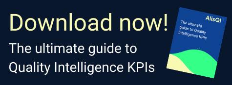 Download AlisQI's Whitepaper on the ultimate guide to Quality Intelligence KPIs